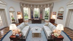 Trump Redesign Oval Office 3 Tv Set Designers On How They U0027d Design The Oval Office For