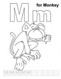 Free Letter M Coloring Pages For Preschool Letter M Coloring M Coloring Pages