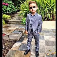 ring bearer wedding attire new arrive two button boys wedding suit costume mariage boy kids