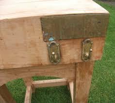 antiques atlas vintage pine butchers block