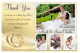how make best wedding thank you cards modern ideas template