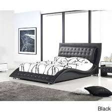 Modern King Platform Bed Dublin Modern King Size Platform Bed Free Shipping Today