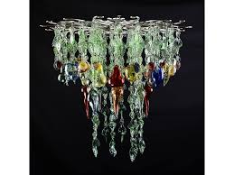 Glass Fruit Chandelier by Glass Chandelier Market Garden A Flame With Desire