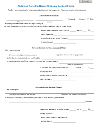 child travel consent form templates fillable u0026 printable samples