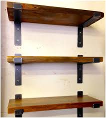 rustic industrial shelf brackets 8 depth industrial gray wash
