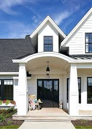 black trim black trim house white exterior with image result for windows