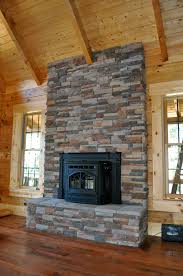fireplace rocks binhminh decoration