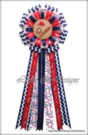 september promotion baseball theme baby shower corsage mommy