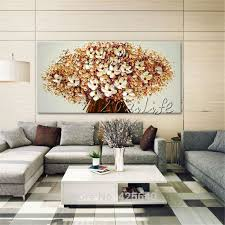 79 best flower hand painted wall painting palette knife wild
