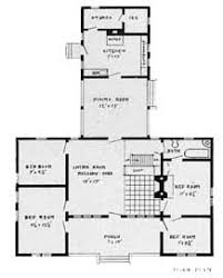 american bungalow house plan