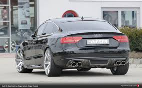 build audi s5 rieger tuning gives audi a5 s5 sportback an rs look fourtitude com