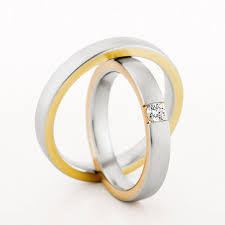 christian bauer wedding rings pair of 18ct 3 5mm wedding rings by christian bauer from heming