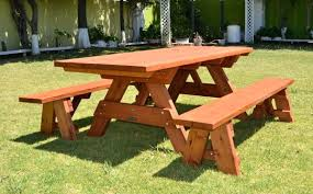 Folding Picnic Table Plans Picnic Tables With Movable Benches Picnic Tables With Benches