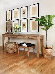 Wooden Console Table 34 Stylish Console Tables For Your Entryway Digsdigs