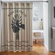 Feed Sack Curtains Bay Linens Safari Giraffe Shower Curtain Dillards From
