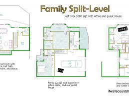 Tri Level House Style by Adorable 60 Modern Split Level Floor Plans Design Inspiration Of
