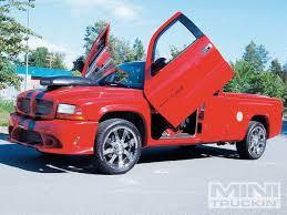 cool dodge dakota custom mini trucks ridin around july 2009 mini truckin