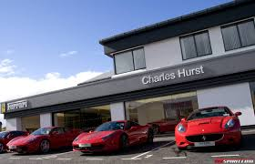 ferrari dealership charles hurst unveils new ferrari showroom in belfast ireland