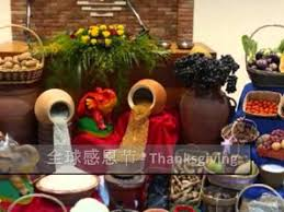 nac thanksgiving altar decorations from around the world
