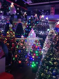 2017 high quality outdoor pvc collapsible christmas tree wholesale