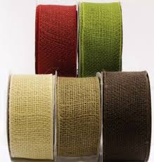 colored burlap ribbon burlap ribbon your of color wedding wreath