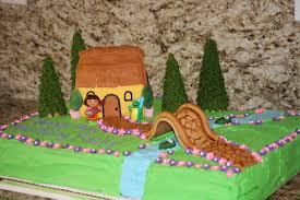 monkeys in my bed dora the explorer cake