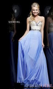 trendy hairstyles sherri hill beautiful long prom dresses 2013 2014