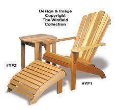Ottoman Plans All Yard Garden Projects Adirondack Chair Table Ottoman