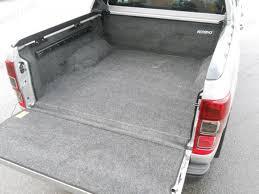 Bed Rug Liner Ford Ranger Mk5 2012 On Double Cab Pickup Load Bed Rug Liner 4x4