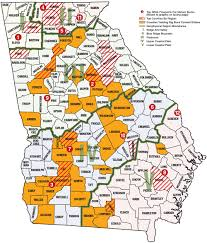 Northeast Georgia Map Best Big Buck States For 2014 Georgia Game U0026 Fish
