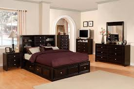 YorkVille Master Bedroom Set In Espresso Finish CMCKCMN - Master bedroom sets california king