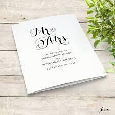 Ideas For Wedding Programs Best 25 Order Of Service Ideas On Pinterest Wedding Order Of