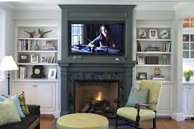 recessed lighting over fireplace living room with fireplace and tv stylish recessed lighting with