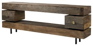 Rustic Tv Console Table Media Tables Furniture Media Console Table With Console