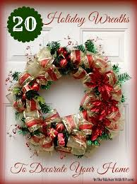 20 wreaths to decorate your home in the kitchen with kp