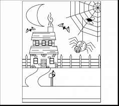 haunted house coloring pages ppinews co
