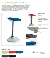 Hon Adjustable Height Desk by Perch Adjustable Height Motion Stool