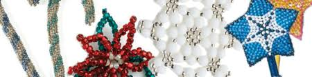 beaded ornaments free beaded projects interweave