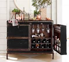 Corner Bar Cabinet Ikea Home Bar U0026 Bar Furniture Pottery Barn