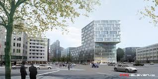 stuttgart architektur projekte architektur bürohochhaus kriegsbergstraße stuttgart