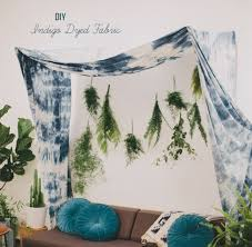 wedding backdrop fabric picture of creative diy indigo dyed fabric as a wedding backdrop