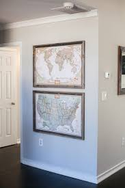 Pottery Barn Gallery In A Box Best 25 Travel Wall Ideas On Pinterest Show World Map Cool