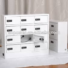decorative charging station pincode cell phone charging locker cabinet mobile phone charger