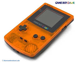 Gameboy Color Gameboy Color Console Clear Orange Black Daiei Hawks Edt by Gameboy Color