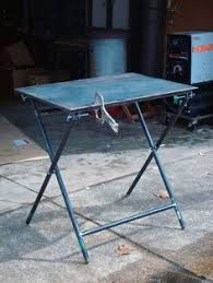 Welding Table Plans by Portable Welding Table By Captainleeward Just An Easy Portable