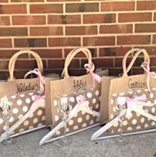 bridesmaids gift bags bridesmaid gift bags unique wedding favors