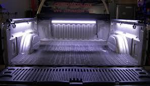 white truck bed liner amazon com chrome glow 180 white leds truck bed cargo light kit