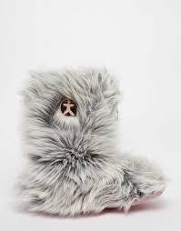 women shoes bedroom athletics cole wolf slipper boots vhjek75003106