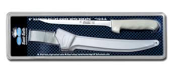 kitchen knives made in the usa sani safe 8 narrow fillet knife with sheath made in usa