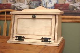 bread box free shipping shabby chic wood kitchen cottage